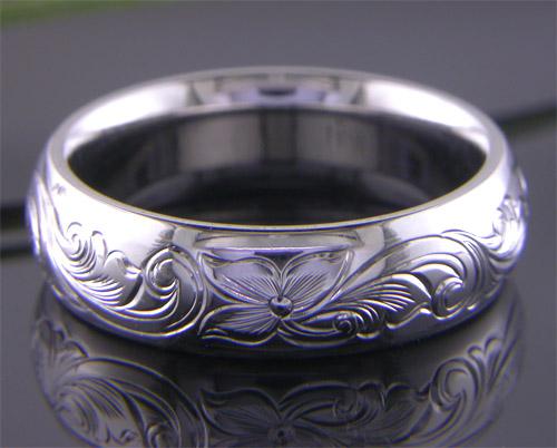 Custom Jewelry Process Hand Engraving