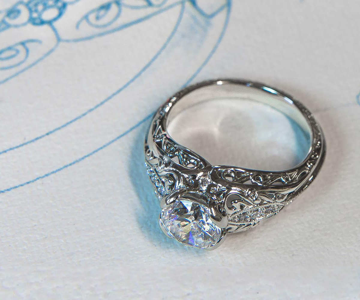 engagement designed own rings ring the design custom layer scroller your experience