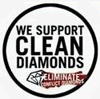Support clean diamonds