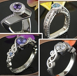 Unique & Original Engagement Rings