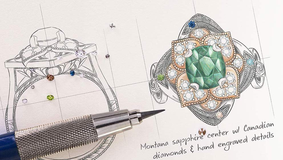 Design a Custom Jewelry in 4 Easy Steps