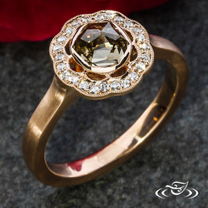 Halo Engagement ring 101353