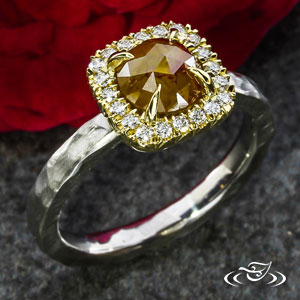 Halo Engagement ring 102102