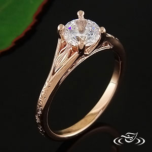 Rose Gold ring 59552