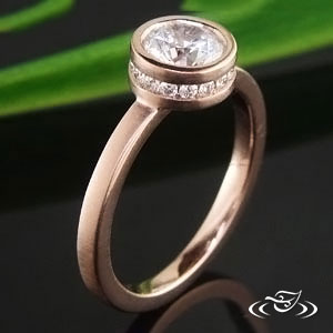 Rose Gold ring 64200