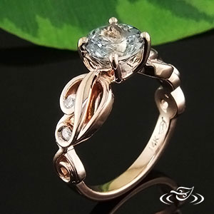 Rose Gold ring 74138