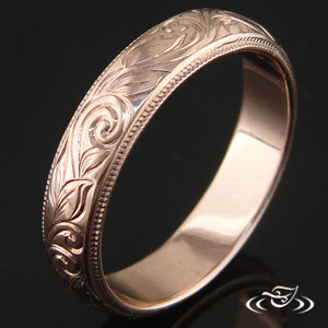 Rose Gold ring 82075