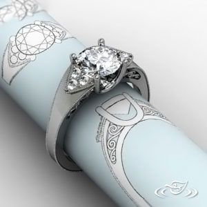 RETRO DREAM ENGAGEMENT RING
