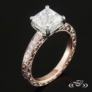 Rose Gold ring 82825
