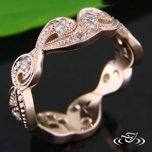 Rose Gold ring 83402