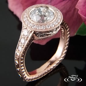Rose Gold ring 83886