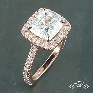 Rose Gold ring 83936