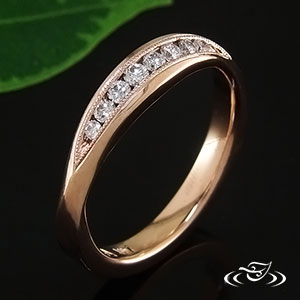 Rose Gold ring 87255