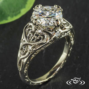 it would have the biggest clearest best cut whitest diamond too it would also scream slytherin and leave no doubt as to who their allegiance is to - Harry Potter Wedding Rings