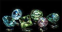 Natural Fancy Color Sapphires