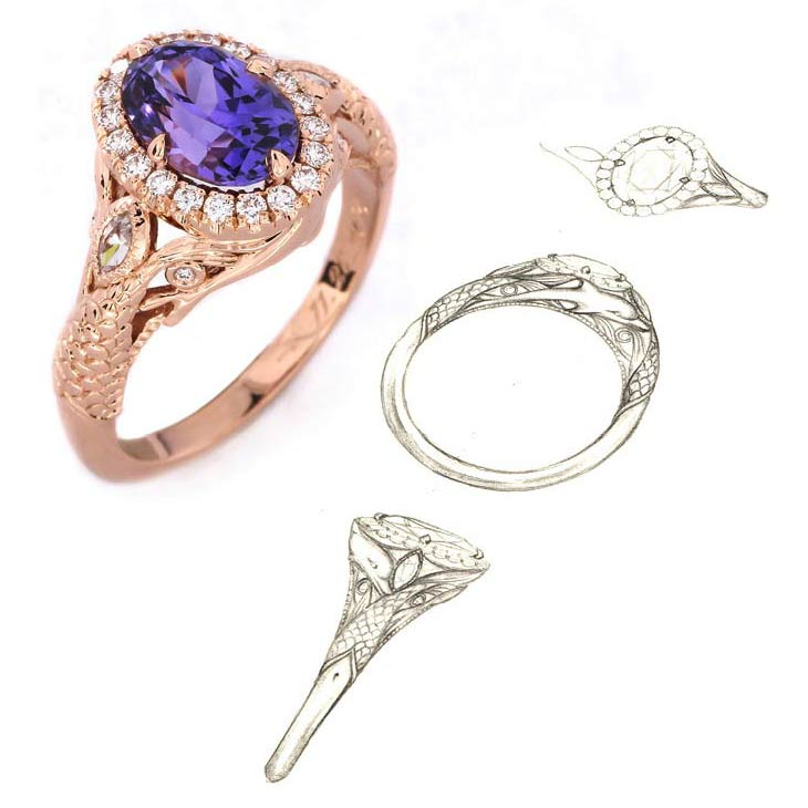 Design Your Own Ring: Design Your Own Engagement Ring & Custom Jewelry